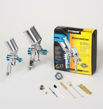 Devilbiss 802342 Startingline Hvlp 2 Gun Painting Amp Touch Up Kit 13 10 18