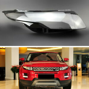 Right Headlight Lens Replacement Cover For Land Rover Range Rover Evoque 12-15