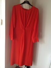 BNWT MARKS AND SPENCER LADIES BRIGHT RED DRESS, SIZE 14, RRP £49.50