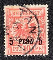 Deutschland Deutsche Kolonien Deutsch-Ostafrika Nr. 3 I a gestempelt geprüft