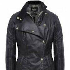 Barbour International Axle  Ladies Wax jacket - Black Size 14
