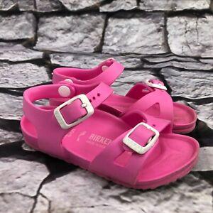 Birkenstock Milano EVA Kids Pink Sandals Kids Size EU 25 US 7