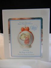 Precious Moments My Hope is in You 2010 Globe Ornament 101003 NIB