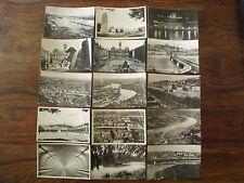Lot 15 cartes postales ancienne Lyon Rhône Place Terreaux Bellecour Croix Rousse