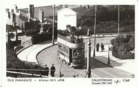 Kent Postcard - Old Ramsgate - Tram on Albion Hill c1918  - BH583