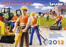 BRUDER Prospekt Katalog 2012 NEU advertising brochure prospectus