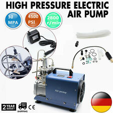 30MPA 4500PSI Electric Pump PCP Air Compressor For Paintball Air Rifles Cylinder