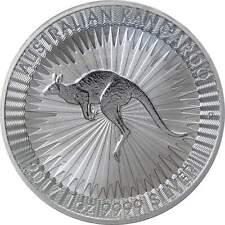 2017 Australian Kangaroo $1 BU Brilliant Uncirculated 1 oz .9999 Silver Coin