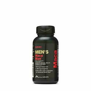 GNC Maca Man, Root Arginine for Enhanced Blood Flow - 60 Vegetarian...