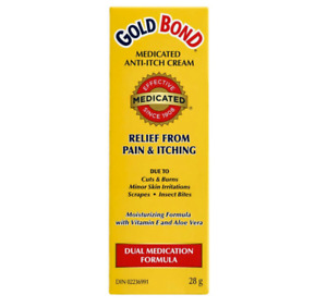 Gold Bond Medicated Pain & Anti-Itch Cream (28 g) - FROM CANADA