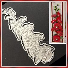 Preloved Tattered Lace Cutting Die - Heavenly Hollyhock