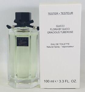 Gucci Flora Gracious Tuberose 3.3 Oz Eau De Toilette Spray Tst Box New With Cap