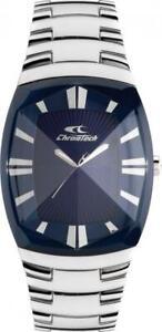 Orologio Uomo CHRONOTECH DOUBLE CUT CT.7065M/03M Bracciale Acciaio Blu