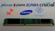 4GB DDR3-1066 PC3-8500U 2Rx8 DDR3 SDRAM Low Profile  1.5V Desktop Memory