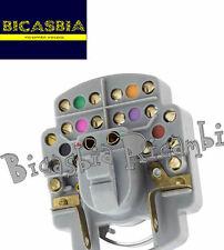9195 - PORTALAMPADA FANALE ANTERIORE LAMBRETTA 125 150 175 200 LI SX TV SERIE 3