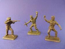 Figurine publicitaire des années 1970 - BONUX - 3 soldats de l'armée de terre 2