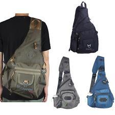 Men's Women's Nylon Sling Bag Chest Bag Large Messenger Outdoor Hiking Backpack