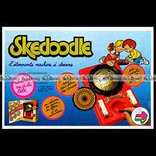 SKEDOODLE 'Machine à dessin' Orli Jouet 1980 - Pub / Publicité / Advert Ad #B491