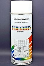 ENAMEL Color Ceramics White Bath SPRAY PAINT Paint Scratch Appliance 400ml