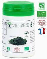 SPIRULINE BIO 60 COMPRIMES COMPLEMENT ALIMENTAIRE NUTRITION BIOPTIMAL FER BCAA