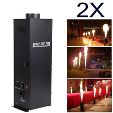 Ridgeyard 2Pcs 200W DMX Flame Thrower Effect Fire Spray Stage Party Projector