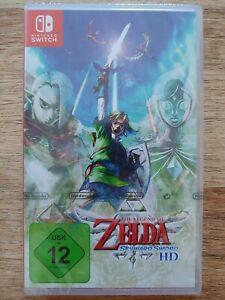 The Legend of Zelda Skyward Sword HD Neu & Versiegelt