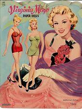 Vntge 1952 Virginia Mayo Paper Doll ~Nice~ Reproduction~Org Size Unct No.1 Sellr