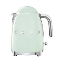 Smeg Kettle - Designer 50s Retro - Green - 2400W - New - Stainless Steel