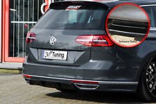 Difusor trasero parte central de ABS para VW Passat 3g b8 r-line con Abe brillo negro