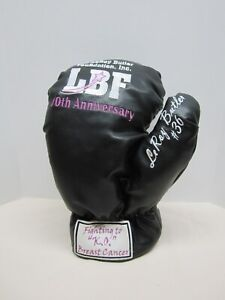 LeRoy Butler Foundation Boxing Glove #36 Fighting to KO Breast Cancer