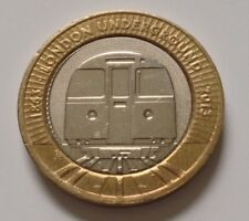 2013 £2 COIN LONDON UNDERGROUND  'Linear representation of the Tube map' ~ CIRC