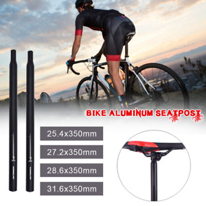 Aluminum Alloy Bike Seat Post Length 350mm 30.8mm Black Bike Seatpost Four Sizes