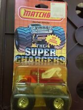 Vintage Matchbox Super Chargers Tow Truck 1985 MOC Monster Truck SC10