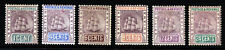 BRITISH GUIANA 1889 A Watermark Crown CA Part Set to 24c. SG 193 to SG 201 MINT