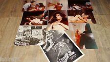 L' ETRANGE VICE DE Md WARDH edwige fenech  photos presse argentique cinema 1971