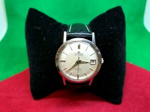 Vintage Mens 1960sBucherer Watch Incabloc Auto  25j 30.42A
