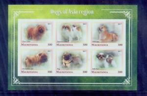 mauritania / 2017 dogs of asia region /good condition
