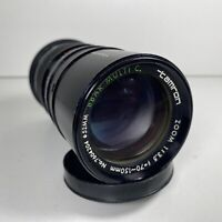 Tamron 70-210mm 1:3.5 BBAR C lens Spares And Repairs No Mount