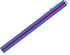 1 x Le Mans Martini style Stripe 156 cm long 12cm wide Sticker decal A648llmm 1