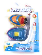 Badeboot Speedboot Barco 2 Piezas Impresión Pistola Juguetes para el Baño