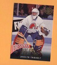 1993-94 Leaf Insert FRESHMAN PHENOMS # 10 Jocelyn Thibault QUEBEC NORDIQUES