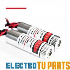 Red Laser Line Module 650nm 5mW Focus Adjustable Laser Head Unit 5V New