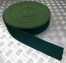 Genuine British Military SBS Worsted Green Stable Belt Material 75mm - NEW