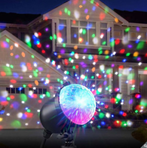 Ion Christmas Holiday Outdoor/Indoor Party Plus LED Laser Light Projector