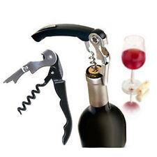 Manually Stainless Steel Wine Opener Waiters Friend Cork Screw/Bottle Opener