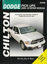 2009-2018 Dodge Ram 1500 4x4 2x4 Truck Chiltons Repair Service Shop Manual 23564
