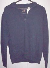 Women's ORVIS Navy Heathered Knotch Crew Large New With Tag