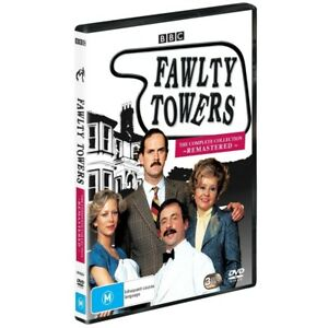 BRAND NEW Fawlty Towers : Complete Series (DVD, 3-Disc Set) R4 Faulty Collection