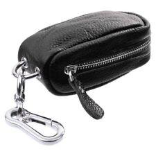 Etuis porte-cles Pochette Zippe Unisexe en Cuir PU pour Cle/ USB/ Pieces/ M U9O1