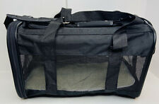 New listing AmazonBasics Black Soft-Sided Pet Carrier - Medium for Dogs Cats
